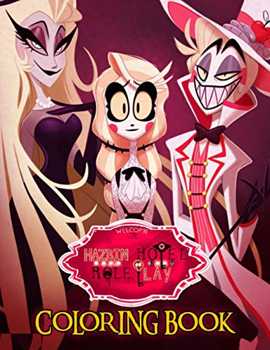 Hazbin Hotel Coloring Book: A Stunning Coloring Book For...