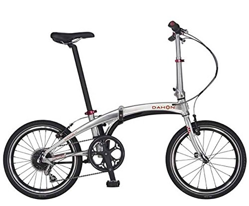 Dahon Vigor - Bicicleta Plegable (9 V), Color marrón