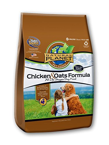 Natural Planet Organics Chicken & Oats Adult Dog...