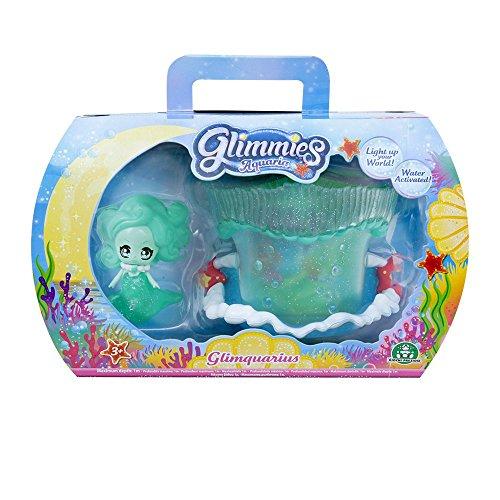Giochi Preziosi - Glimmies Aquaria Glimquarius e Glimmies Esclusiva Nerea, Mini Playset