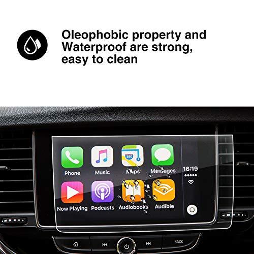 YEE PIN [Opel Mokka X SUV/Vauxhall Mokka X SUV] GPS Pellicola Protettiva Protezione Navigazione Proteggi Schermo [ Vetro temperato] –9HDurezza Scratch Resistente,8 pollice