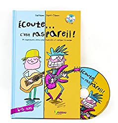 Le livre CD Ecoute C'est pas pareil pour commencer l'éveil musical