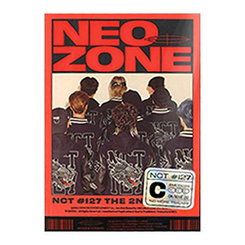 NCT 127 Neo Zone Album PreOrder (C Ver.) CD+Folding Poster On Pack+Photo Book+Lyrics Book+Post Poster+Photo Card+Circle Card+Sticker+Gift(Extra 5 Photocards Set)
