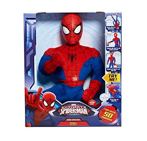 Marvel Sha Wise Crackin Spiderman Plush
