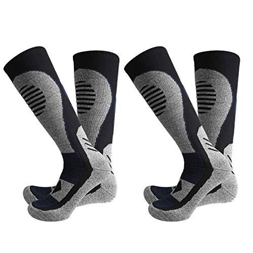 Nrpfell Ski Socken Winter StrüMpfe Wander StrüMpfe Verdicken und Erh?Hen Warme Socken Schneesocken Bombas Socken für Herren