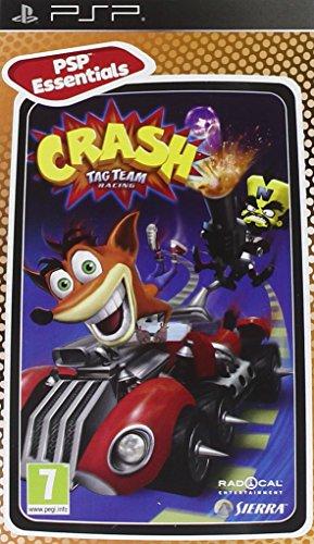 Activision Crash Tag Team Racing Essentials, PSP - Juego (PSP, PlayStation Portable (PSP), Racing, E10 + (Everyone 10 +))