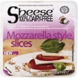Queso vegano Mozzarella style en lonchas Sheese, 200 g