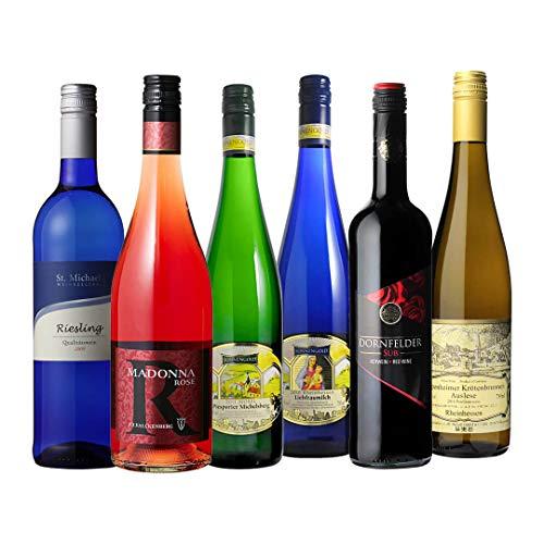 ドイツ産 やや甘口ワイン6種セット ドイツワイン 飲み比べ ドイツ
