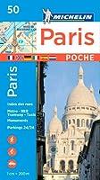 Michelin Paris Pocket Plan Poche 50 (Michelin City Plans)