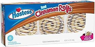 Hostess Danish Snack Cakes (Iced Cinnamon Rolls)
