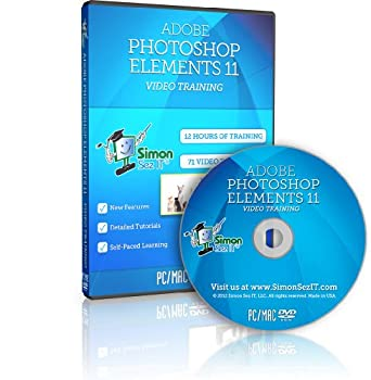 Learn Adobe Photoshop Elements 11 Training Tutorials - 12 Hours