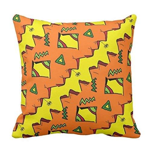 Nvfshreu Halloween Halloween Araignée Jack O Lantern Oreiller Polyester Simplicité Mode Simple Style Confortable Chic Usage Quotidien (Color : Colour, Size : Size)