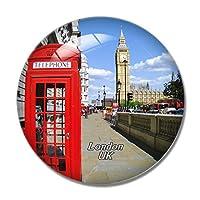 イギリスイギリス赤電話ボックスロンドン冷蔵庫マグネットホワイトボードマグネットオフィスキッチンデコレーション