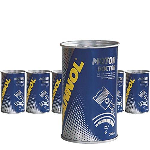 MANNOL 6 x 350ml 9990 Motor Doctor/Motoroeladditiv Beschichtung Motorschutz Zusatz