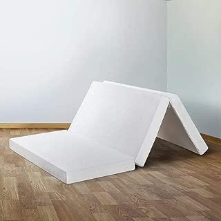 Crown Comfort Tri-Fold Mattress 4 inch Memory Foam - Twin