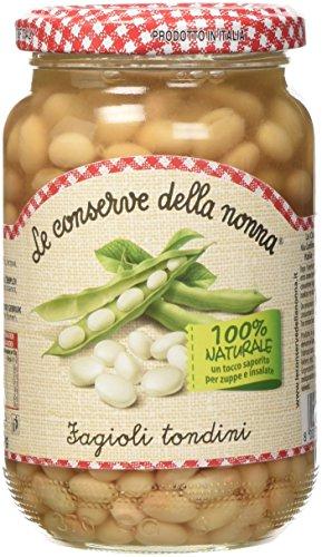 Le Conserve della Nonna Fagioli Tondini 100% Naturale - 360 gr