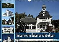 Historische Baederarchitektur Ruegen (Wandkalender 2022 DIN A3 quer): Der Kalender zeigt wunderschoene Aufnahmen der historischen Baederarchitektur Ruegens (Monatskalender, 14 Seiten )