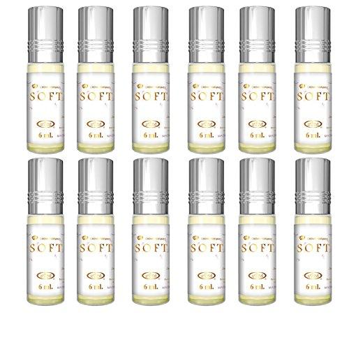Prime authentique Attar Huile Parfum Parfum Halal sans alcool 6-ml de qualité supérieure 6 ml X 12 pcs (lot de 12) (souple)