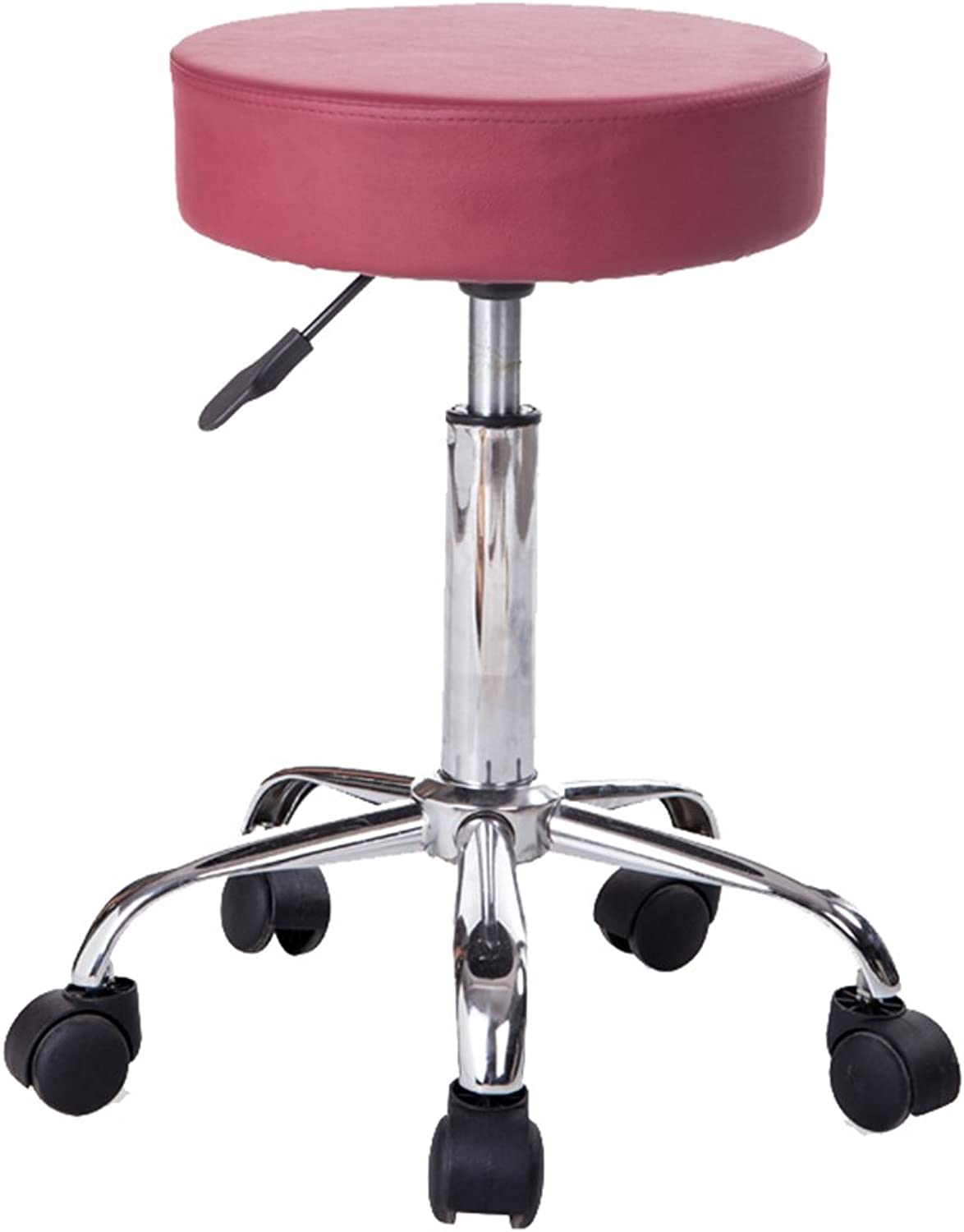 Office Chairs Desk Chairs Home Office Furniture Office Chair Swivel Chair Lifting Stool Beauty Stool Bar Stool (color   Red, Size   35  9  52cm)