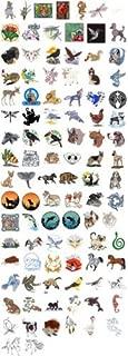 OESD C&C Treasure Chest of Embroidery Machine Designs CD ANIMALS 100 DESIGNS