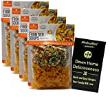 Bundle includes Anderson House Frontier Soups Gluten Free Natural Soup Mix | Connecticut Cottage Chicken Noodle (4.25 Ounces) | Pack of 4; Bundle Includes MerlinsMart Down Home Deliciousness 20 Quick and Easy Recipes Your Family Will Love Booklet Glu...
