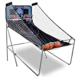 GXP LED Electronic Basketball Double Shot Hoops Dual Player 4 Balls Kid Toys Home