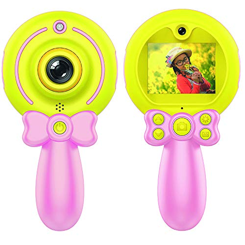Digitale Kindercamera Lollipop (Roze)