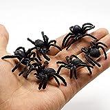 juntao 1PC PVC araña artificial insecto animal modelo broma divertido truco broma juguetes