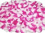 Octubre Elfo 1000 pétalos de Rosa de Seda pétalos de Flores Artificiales Rosas Flores Boda Flor decoración de