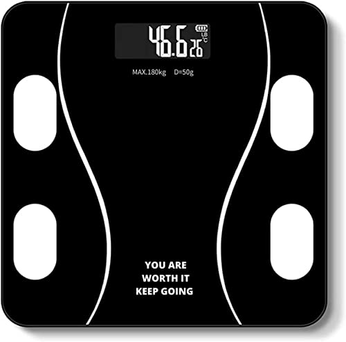 RYLAN India Electronic Thick Tempered Glass LCD Display Digital Personal Bathroom Health Body Weight Weighing Scales For Body Weight weight machine for human body weighing machine digital weighing machine Bathroom Scale 2021 Model