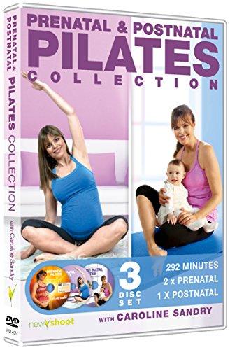 Prenatal & Postnatal Pilates Collection with Caroline Sandry (3 x DVD Box Set)