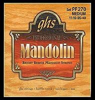GHS弦マンドリンセット(ミディアムブライトブロンズ)
