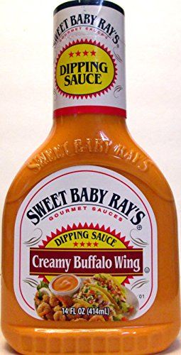 Sweet Baby Ray's Creamy Buffalo Wing Dipping Sauce (Pack of 3) 14 oz Bottles