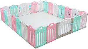 Activity Centres Game Fence Children s Fence Park Home Game Bed Boys And Girls Toys Security Fence  Color Pink-B