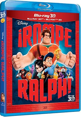 ¡Rompe Ralph! (Blu-ray 3D) [Blu-ray]
