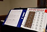Laminated Baritone Ukulele Fretboard & Chord Chart Easy Instructional Poster Bari Uke Notebook 8.5'x11'
