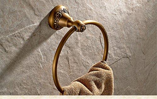 Anillo de toalla de baño de cobre Colgante europeo de baño Anillo de toalla de dragón de una sola capa