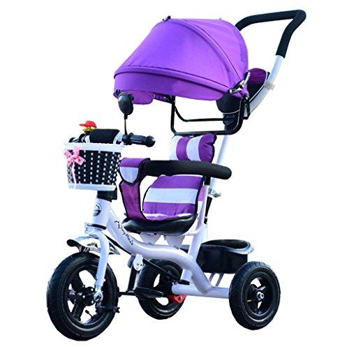 JIANPING Triciclo para niños al Aire Libre, 7 Meses a 6 años de ...