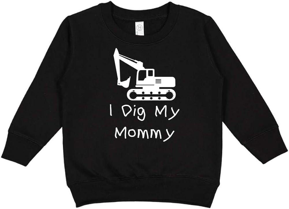 I Dig My Mommy Toddler//Kids Sweatshirt