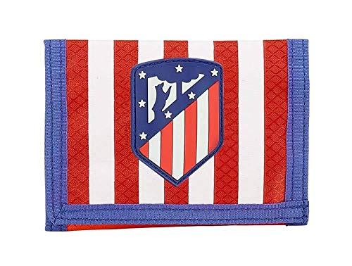 Atletico De Madrid 811845036 2018 Tarjetero 12 cm, Rojo