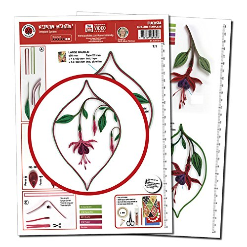 Karen Marie Klip Papirmuseets By A//S filigranas Template Rosas