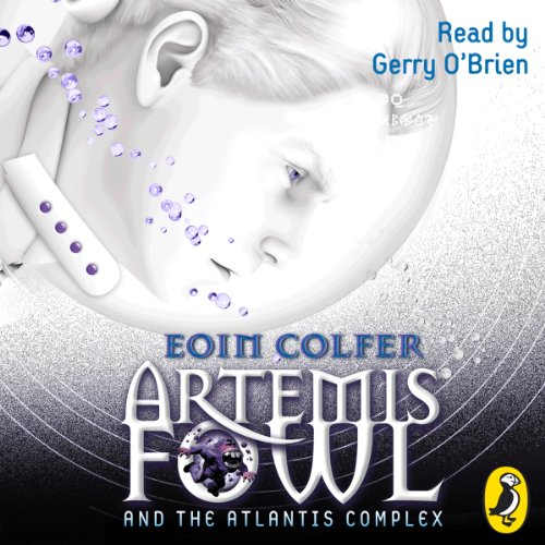 Artemis Fowl and the Atlantis Complex audiobook cover art