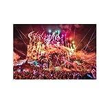 Heiwu Tomorrowland Mainstage Leinwand-Kunst-Poster und