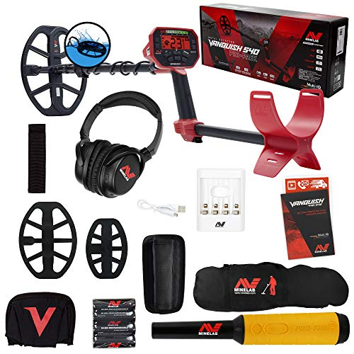 Cheapest Prices! Minelab Vanquish 540 Pro Pack Detector w/ 2 Coils, Pro-Find 35 Pinpointer, Bag