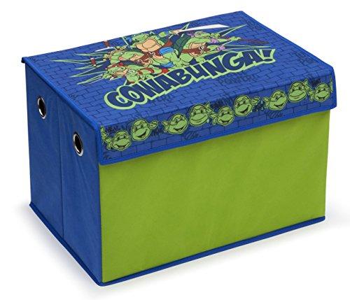 Delta Children Fabric Toy Box, Nickelodeon Teenage Mutant Ninja Turtles