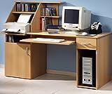 Schreibtisch PC-Tisch Buche Bürotisch - (1481)