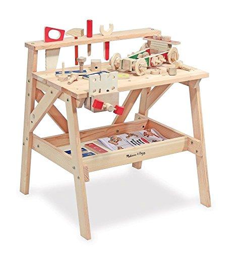 Melissa & Doug - 12369 - Jeu de Construction - Établi de projets en bois [Jouet]