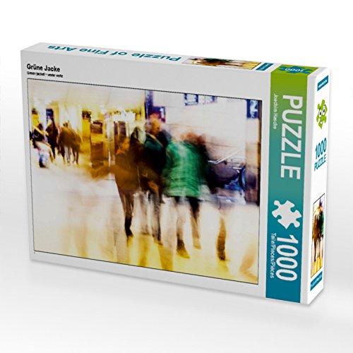 CALVENDO Puzzle Groene jas 1000 pieces 64 x 48 cm from Joachim Hasche