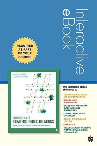 Introduction to Strategic Public Relations Interactive eBook: Digital, Global, and Socially Responsible Communication