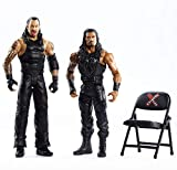 WWE Roman Reigns vs Undertaker Battle Pack Series #66 with Two 6-inch Articulated Action Figures & Ring Gear